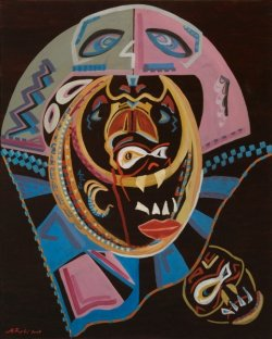 Maske i rituali indijanaca                    100X80        400e