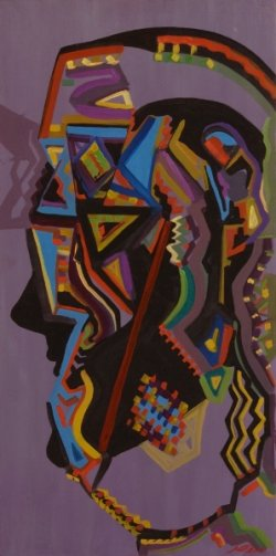 Maska žene(indijanke)                        80X40        200e