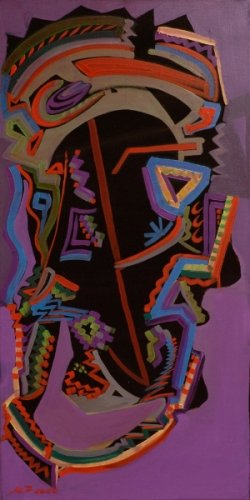 Maska muškarca(indijanca)                80X40        200e